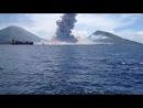 вулкан--извержение