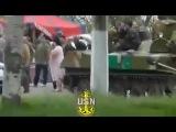 Славянск Новое Танки в Городе Краматорск Донецк Луганск Харьков Одесса Украина