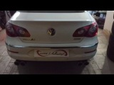 CustomUnlimited. Custom Borla Exhaust on Passat CC 2.0TDI+non DPF+APR Carbonio