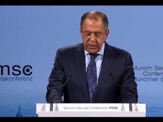 Выступление Министра иностранных дел России С.В.Лаврова в ходе дискуссии на 51-й Мюнхенской конференции